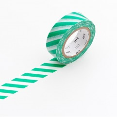 Nastro Masking Tape stripe green