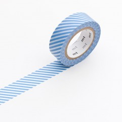 Nastro Masking Tape stripe light blue
