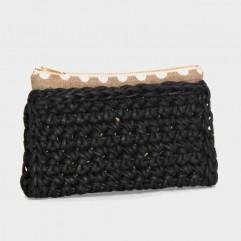 Crochet purse Henson Pm black
