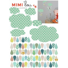 -50% Sticker Just a Touch Nuages & gouttes