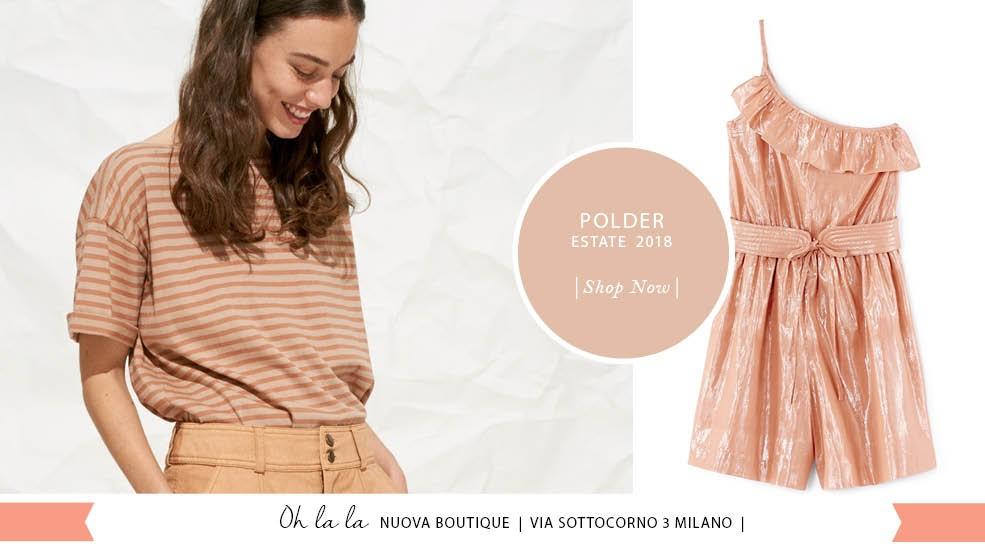 Ritrova le novità Polder in Via Sottocorno 3 Milano !