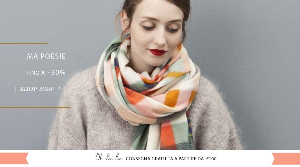 Affrettati la nuova collezione è on-line ! Consegna Gratuita da 100€