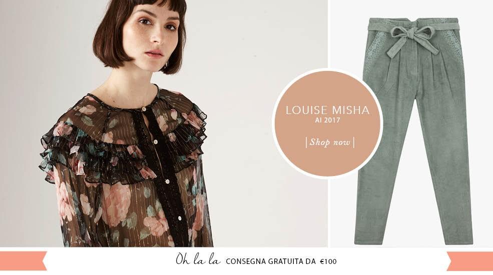 Scopri la collezione Louise Misha Inverno 2017. Consegna Gratuita da 100€