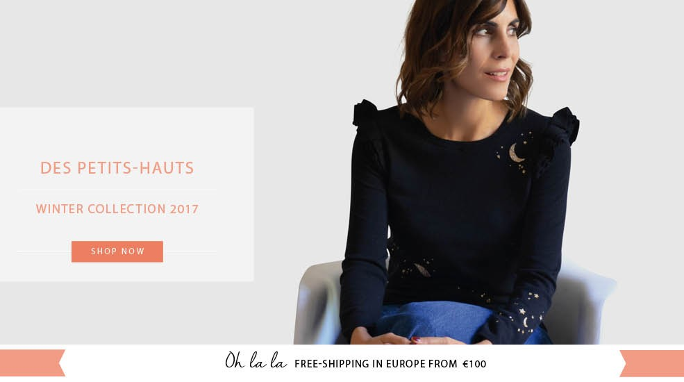 Shop The New Collection Des Petits-Hauts on Lesparigotes.com
