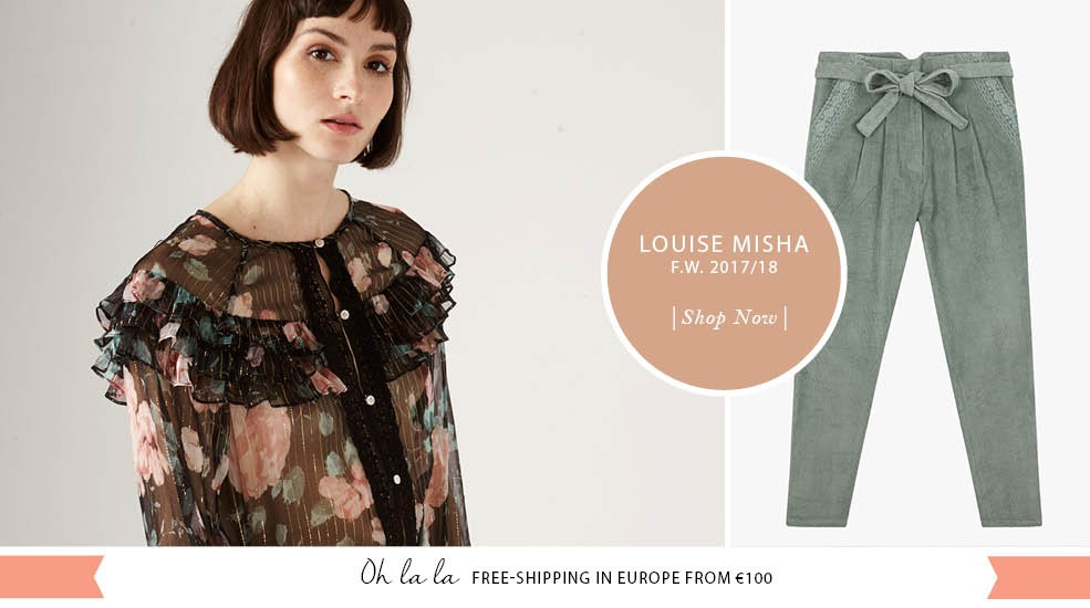 Discover Louise Misha's collection for winter 2017 ! Free-shipping from 100€