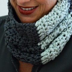 -50% Snood Margot menthe