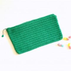 Pochette Cerise verde menta