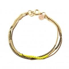 Bracelet Split citron