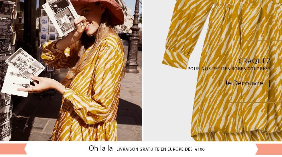 robes-imprimés-Soie-Viscose-fleurs-couleurs-été2021