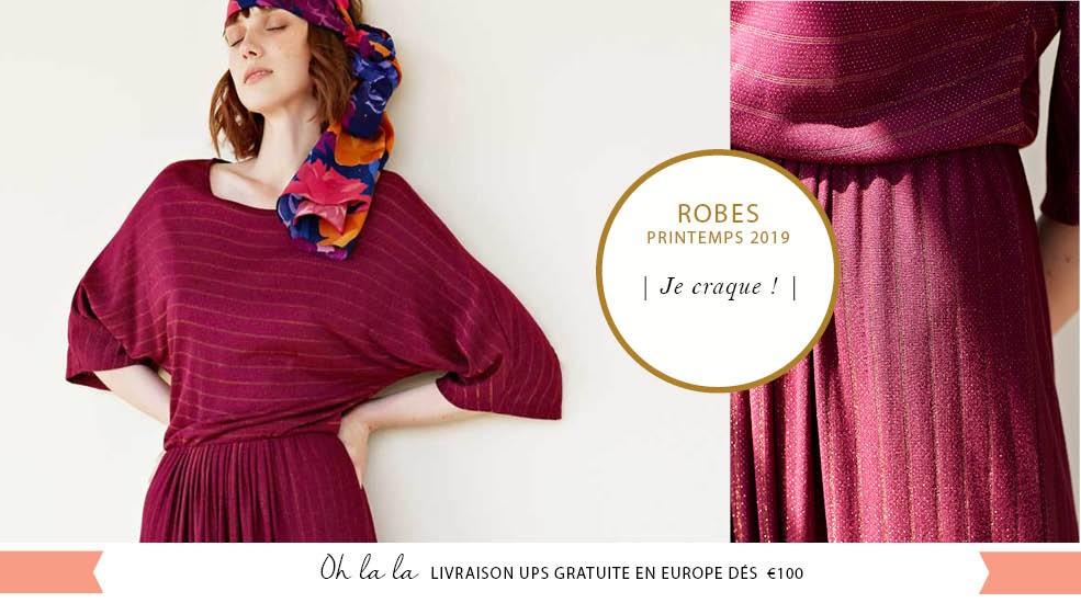 Dècouvrez notre belle selection de robes pour le printemps !