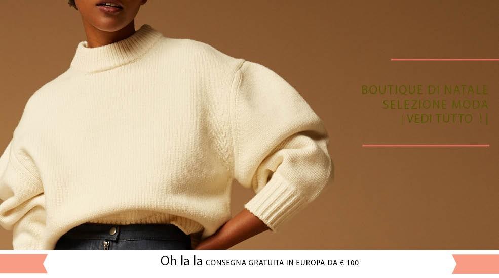 Scopri la nostra selezione per la Natale! Moda, Gioielli, Accessori, Lingerie...