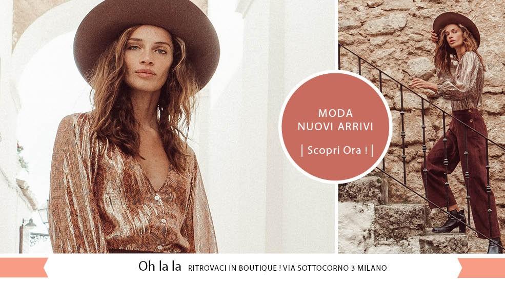 Acquista online o nella boutique Milanese di Via Sottocorno 3 !