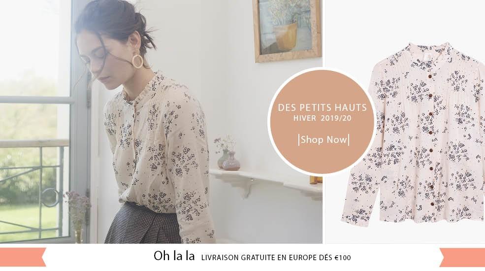 Retrouvez la nouvelle collection Des Petits Hauts  Hiver 2019 chez lesparigotes.